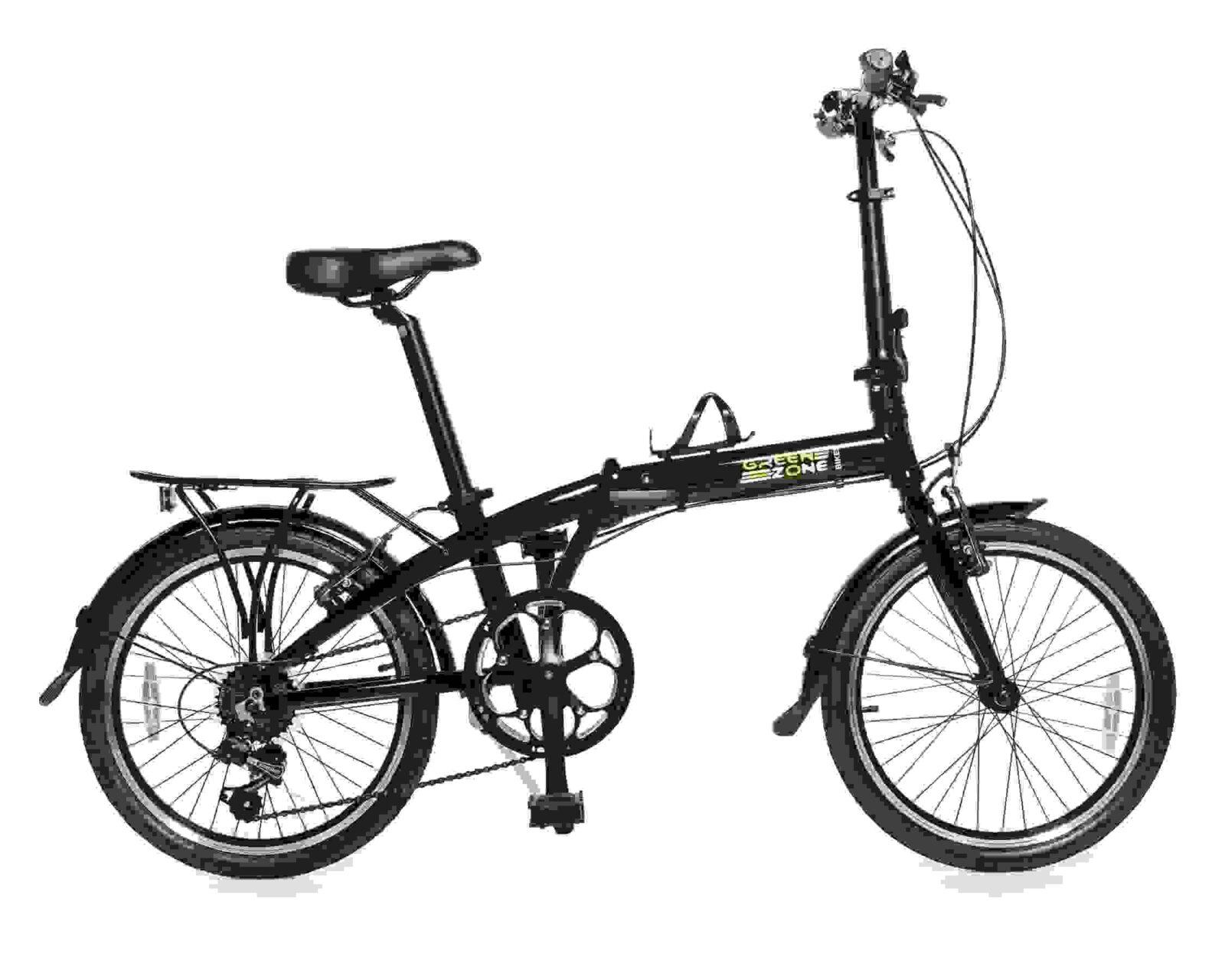 Premium Edition Model 20″ (Black) Alloy 7-Speed