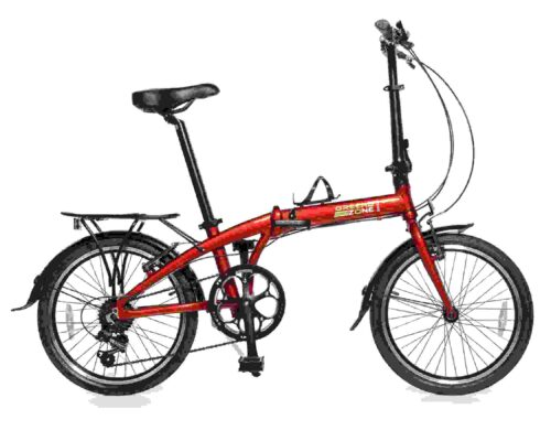 Premium Edition Model 20″ (Red) Alloy 7-Speed